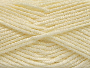 Fiber Content 100% Acrylic, Light Cream, Brand ICE, Yarn Thickness 5 Bulky  Chunky, Craft, Rug, fnt2-60922