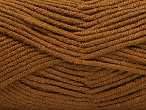 Fiber Content 100% Acrylic, Brand ICE, Brown, Yarn Thickness 5 Bulky  Chunky, Craft, Rug, fnt2-60928