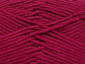 Fiber Content 100% Acrylic, Brand ICE, Burgundy, Yarn Thickness 5 Bulky  Chunky, Craft, Rug, fnt2-60940