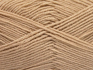 Fiber Content 100% Acrylic, Brand ICE, Beige, Yarn Thickness 4 Medium  Worsted, Afghan, Aran, fnt2-60962