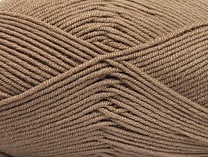 Fiber Content 100% Acrylic, Brand ICE, Camel, Yarn Thickness 4 Medium  Worsted, Afghan, Aran, fnt2-60966