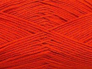 Fiber Content 100% Acrylic, Brand ICE, Dark Orange, Yarn Thickness 4 Medium  Worsted, Afghan, Aran, fnt2-60972