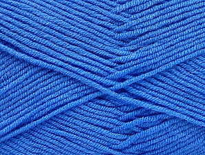 Fiber Content 100% Acrylic, Light Blue, Brand ICE, Yarn Thickness 4 Medium  Worsted, Afghan, Aran, fnt2-60986