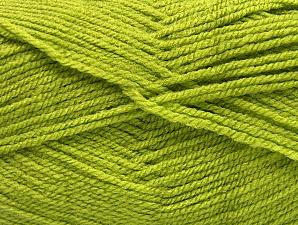 Fiber Content 100% Acrylic, Light Green, Brand ICE, Yarn Thickness 3 Light  DK, Light, Worsted, fnt2-61083