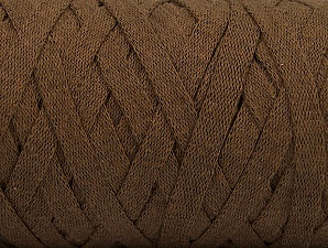 Fiber Content 100% Recycled Cotton, Brand ICE, Brown, Yarn Thickness 6 SuperBulky  Bulky, Roving, fnt2-61087