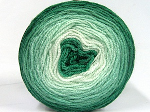 Fiber Content 100% Premium Acrylic, Brand ICE, Green Shades, Yarn Thickness 2 Fine  Sport, Baby, fnt2-61150