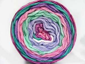 Fiber Content 100% Acrylic, Pink, Orchid, Lilac, Brand ICE, Green, Yarn Thickness 4 Medium  Worsted, Afghan, Aran, fnt2-61166