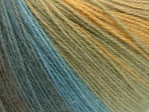 Fiber Content 60% Acrylic, 20% Wool, 20% Angora, White, Light Grey, Brand Ice Yarns, Green Shades, Blue Shades, Yarn Thickness 2 Fine Sport, Baby, fnt2-61194