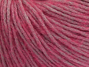 Fiber Content 85% Acrylic, 15% Bamboo, Pink, Lilac, Brand ICE, Yarn Thickness 4 Medium  Worsted, Afghan, Aran, fnt2-61247