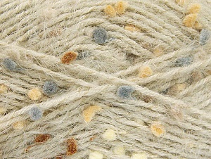 Fiber Content 50% Polyamide, 40% Premium Acrylic, 10% Polyester, Brand ICE, Grey, Brown Shades, Beige, Yarn Thickness 4 Medium  Worsted, Afghan, Aran, fnt2-61286