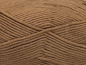 Fiber Content 60% Bamboo, 40% Polyamide, Brand ICE, Camel, Yarn Thickness 2 Fine  Sport, Baby, fnt2-61312