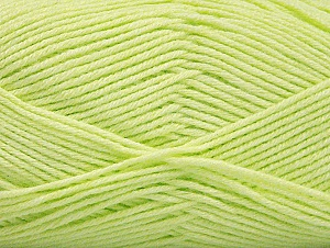 Fiber Content 60% Bamboo, 40% Polyamide, Light Green, Brand ICE, Yarn Thickness 2 Fine  Sport, Baby, fnt2-61318