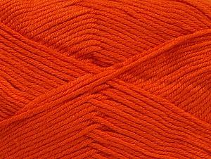 Fiber Content 60% Bamboo, 40% Polyamide, Brand Ice Yarns, Dark Orange, Yarn Thickness 2 Fine Sport, Baby, fnt2-61323