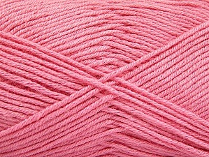 Fiber Content 60% Bamboo, 40% Polyamide, Pink, Brand ICE, Yarn Thickness 2 Fine  Sport, Baby, fnt2-61327