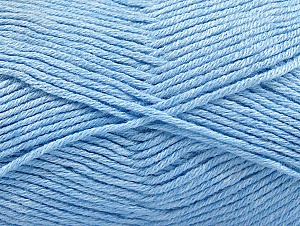 Fiber Content 60% Bamboo, 40% Polyamide, Light Blue, Brand ICE, Yarn Thickness 2 Fine  Sport, Baby, fnt2-61338