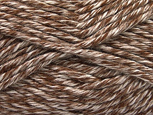 Fiberinnehåll 100% Akryl, White, Brand ICE, Brown, fnt2-61355