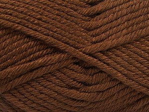 Fiber Content 100% Acrylic, Brand ICE, Brown, fnt2-61356
