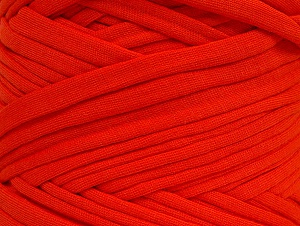 Make handbags,rugs,basket and cushion covers with this genius new-fashion yarn!<p>Since the yarn is made by upcycling fabrics, and because of the nature of the yarn; take the following notes into consideration. </p><ul><li>Fiber content information may vary. Information given about fiber content is approximate. </li><li>The yardage and weight information of the yarn is approximate. </li></ul> Vezelgehalte 95% Katoen, 5% Elastan, Tomato Red, Brand ICE, fnt2-62107