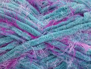 Fiber Content 100% Polyamide, Turquoise, Brand ICE, Fuchsia, fnt2-62195