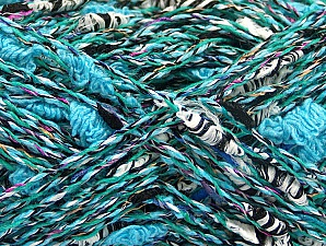 Fiber Content 60% Cotton, 40% Polyamide, Turquoise, Brand ICE, fnt2-62212