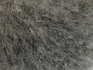 Fiber Content 40% Polyamide, 30% Acrylic, 30% Kid Mohair, Brand ICE, Grey Melange, fnt2-62226