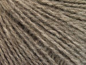 Fiberinnehåll 50% Akryl, 50% Ull, Light Camel, Brand ICE, fnt2-62304