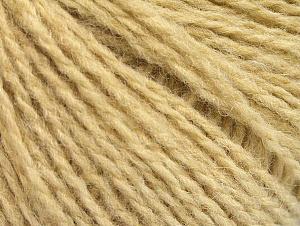 Fiber Content 50% Acrylic, 50% Wool, Brand ICE, Dark Cream, fnt2-62311