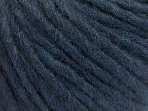 Fiberinnehåll 50% Akryl, 50% Ull, Navy, Brand ICE, Yarn Thickness 4 Medium  Worsted, Afghan, Aran, fnt2-62365