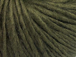 Fiberinnehåll 50% Akryl, 50% Ull, Khaki, Brand ICE, Yarn Thickness 4 Medium  Worsted, Afghan, Aran, fnt2-62366