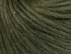 Fiber Content 50% Acrylic, 50% Wool, Khaki, Brand ICE, Yarn Thickness 4 Medium  Worsted, Afghan, Aran, fnt2-62370