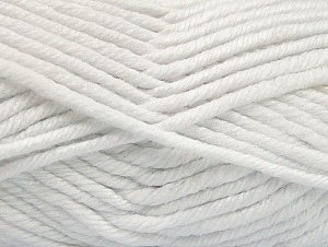 Fiberinnehåll 100% Akryl, White, Brand ICE, Yarn Thickness 6 SuperBulky  Bulky, Roving, fnt2-62371