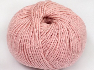 Fiber Content 50% Cotton, 50% Acrylic, Rose Pink, Brand ICE, fnt2-62414