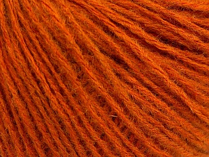 Fiber Content 60% Acrylic, 40% Wool, Orange, Brand ICE, fnt2-62513