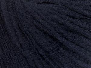 Fiber Content 60% Acrylic, 40% Wool, Navy, Brand ICE, fnt2-62524