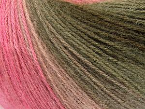 Contenido de fibra 60% Acrílico, 20% Lana, 20% Angora, White, Pink Shades, Brand ICE, Grey, Brown, Yarn Thickness 2 Fine  Sport, Baby, fnt2-62540