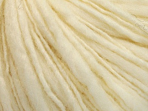 Fiber Content 55% Acrylic, 45% Wool, Brand ICE, Cream, Yarn Thickness 4 Medium  Worsted, Afghan, Aran, fnt2-62554