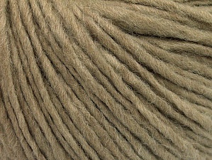 Fiber Content 50% Wool, 50% Acrylic, Brand ICE, Cafe Latte, Yarn Thickness 4 Medium  Worsted, Afghan, Aran, fnt2-62558