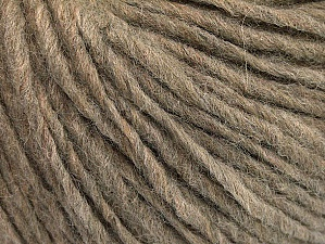 Fiber Content 50% Wool, 50% Acrylic, Brand ICE, Camel, Yarn Thickness 4 Medium  Worsted, Afghan, Aran, fnt2-62559