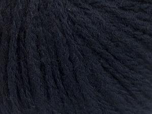 Fiberinnehåll 50% Ull, 50% Akryl, Brand ICE, Dark Navy, Yarn Thickness 4 Medium  Worsted, Afghan, Aran, fnt2-62631