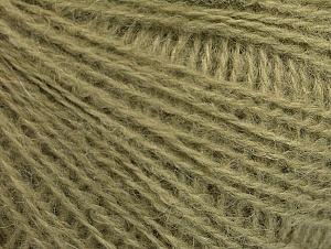 Fiber Content 50% Acrylic, 25% Alpaca, 25% Merino Wool, Light Khaki, Brand ICE, fnt2-62681