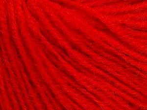 Fiber Content 50% Acrylic, 25% Alpaca, 25% Merino Wool, Red, Brand ICE, fnt2-62689