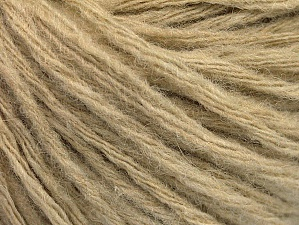 Fiber Content 50% Wool, 50% Acrylic, Brand ICE, Beige, fnt2-62711
