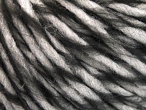 Fiber Content 55% Acrylic, 45% Wool, White, Brand ICE, Black, fnt2-62717