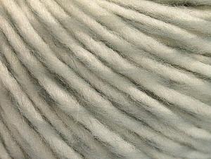 Fiber Content 55% Acrylic, 45% Wool, White, Light Grey, Brand ICE, fnt2-62727