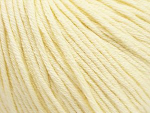 Fiber Content 50% Acrylic, 50% Cotton, Brand ICE, Cream, fnt2-62731