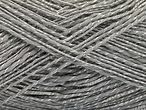 Fiber Content 65% Acrylic, 35% Viscose, Light Grey, Brand ICE, Yarn Thickness 2 Fine  Sport, Baby, fnt2-62756