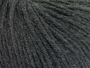 Contenido de fibra 60% Acrílico, 40% Lana, Brand ICE, Dark Grey, Yarn Thickness 2 Fine  Sport, Baby, fnt2-62768