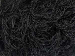 Fiber Content 6% Polyamide, 46% Acrylic, 29% Wool, 19% Viscose, Brand ICE, Black, fnt2-62770