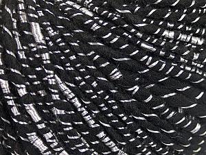 Fiber Content 34% Acrylic, 34% Viscose, 21% Alpaca, 11% Wool, Brand ICE, Black, Yarn Thickness 4 Medium  Worsted, Afghan, Aran, fnt2-62773