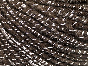 Fiber Content 34% Acrylic, 34% Viscose, 21% Alpaca, 11% Wool, Brand ICE, Brown, Yarn Thickness 4 Medium  Worsted, Afghan, Aran, fnt2-62778